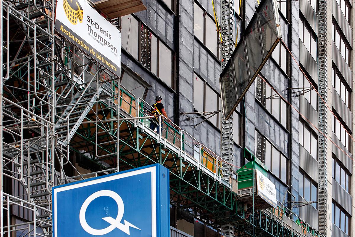Hydro quebec 600 fullum refection facade 06 st denis for Refection de facade maison